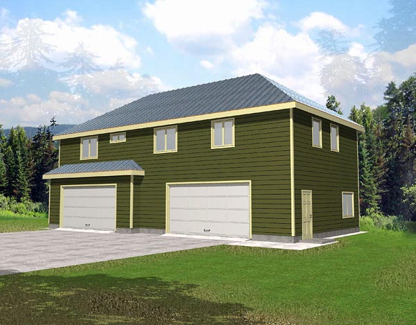 Garage Plan 86883 Elevation