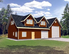 Garage Plan 86888 Elevation