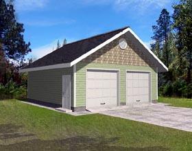Garage Plan 86890
