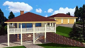 Traditional House Plan 86896 Elevation