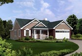 Plan Number 86900 - 1302 Square Feet