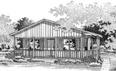 Plan Number 86902 - 720 Square Feet