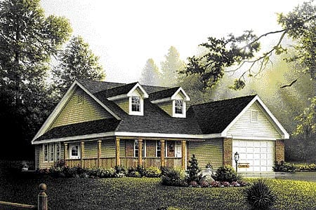 Traditional House Plan 86905 Elevation