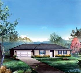House Plan 86907