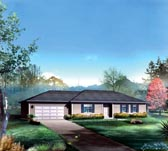 Plan Number 86907 - 1416 Square Feet