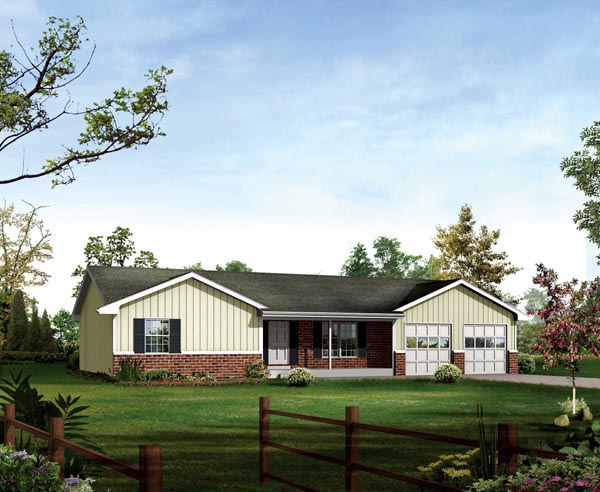 Ranch House Plan 86911 Elevation