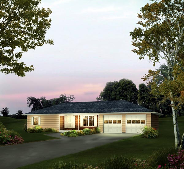 Ranch House Plan 86912 Elevation