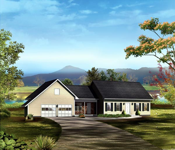 Traditional House Plan 86915 Elevation