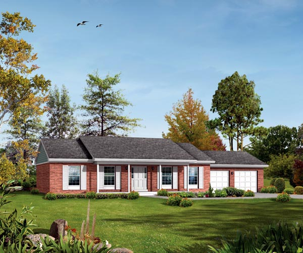 House Plan 86916 Elevation