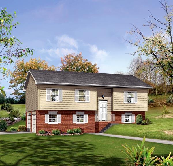 Retro Traditional House Plan 86917 Elevation