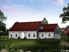House Plan 86928 Elevation