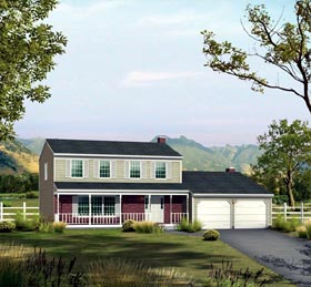 Traditional House Plan 86929 Elevation