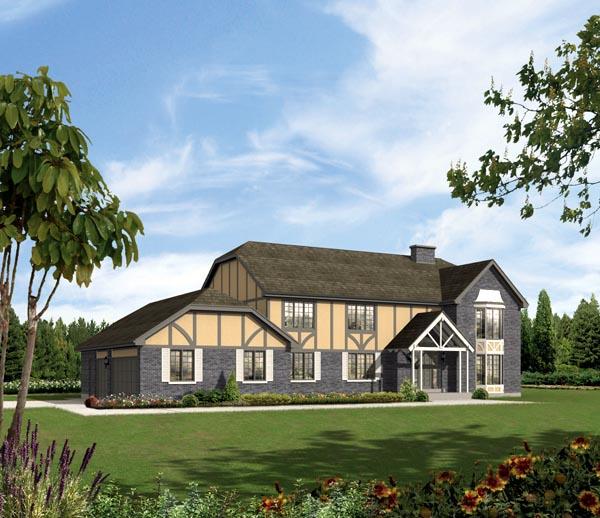 Craftsman House Plan 86935 Elevation