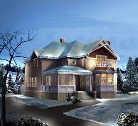 House Plan 86936 Elevation