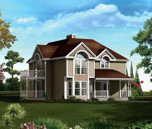 House Plan 86937 Elevation