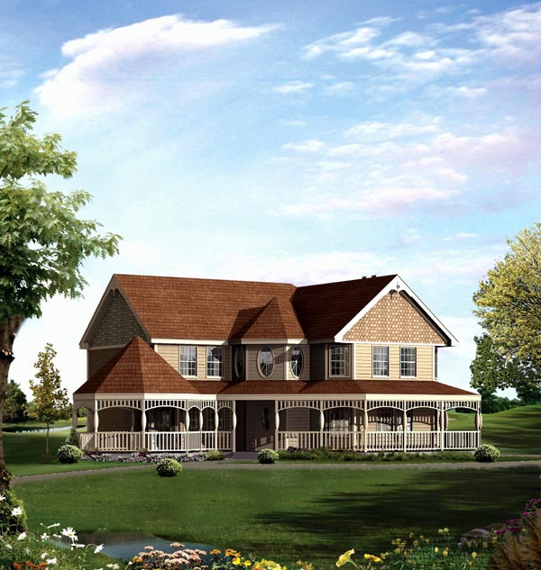 House Plan 86938 with 3 Beds, 3 Baths, 2 Car Garage Elevation