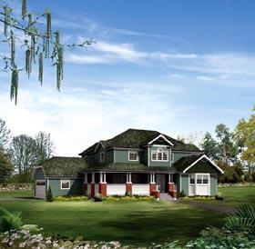 House Plan 86940 Elevation