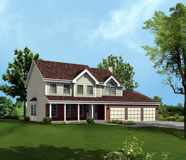 House Plan 86942 Elevation