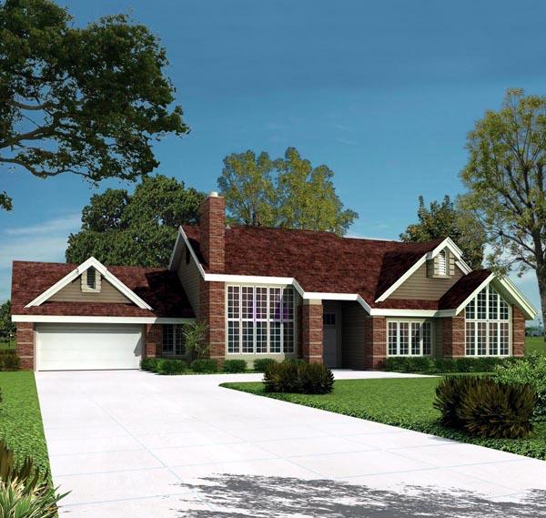 House Plan 86953