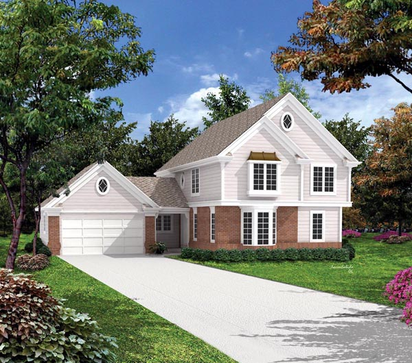 Traditional House Plan 86956 Elevation