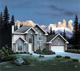 Traditional House Plan 86958 Elevation