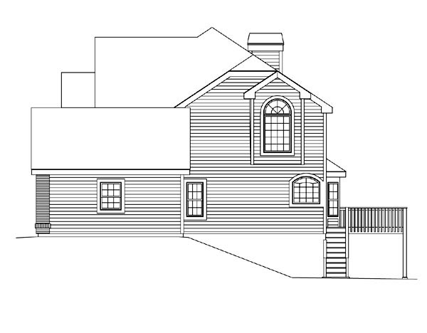 Traditional House Plan 86958