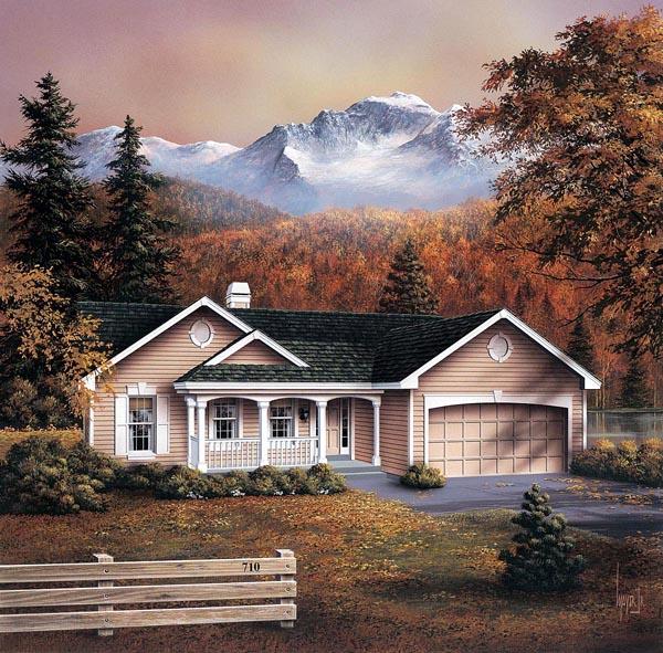 House Plan 86959