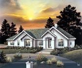 House Plan 86961