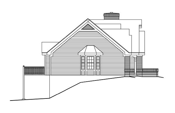Bungalow Country Craftsman Ranch Traditional House Plan 86962