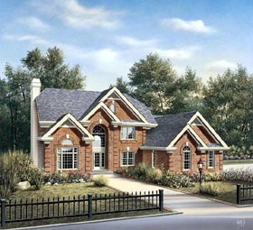 Traditional House Plan 86963 Elevation
