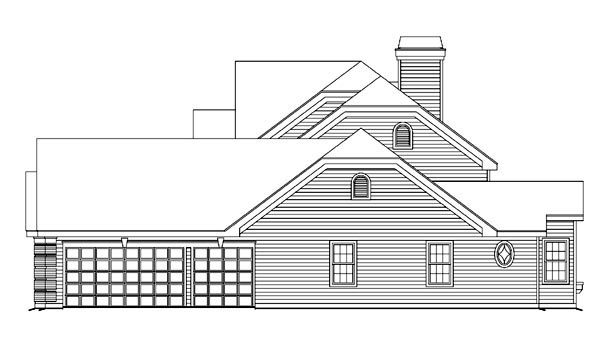 Traditional House Plan 86963 with 4 Beds, 4 Baths, 1 Car Garage Picture 2