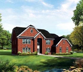 Colonial Country Traditional House Plan 86965 Elevation