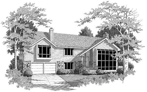 Contemporary House Plan 86969