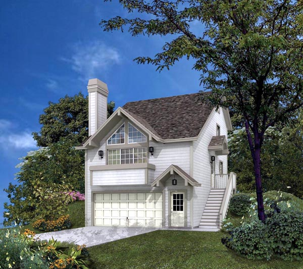 Contemporary House Plan 86972 Elevation