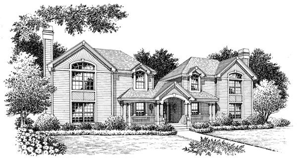 Contemporary, Country, Traditional Multi-Family Plan 86976 with 6 Beds, 6 Baths, 4 Car Garage Picture 3