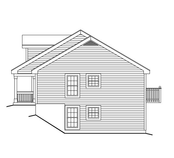 Cape Cod, Country, Ranch Multi-Family Plan 86977 with 5 Beds, 5 Baths Picture 2