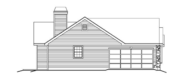 Country, Ranch, Traditional House Plan 86983 with 2 Beds, 2 Baths, 2 Car Garage Picture 1