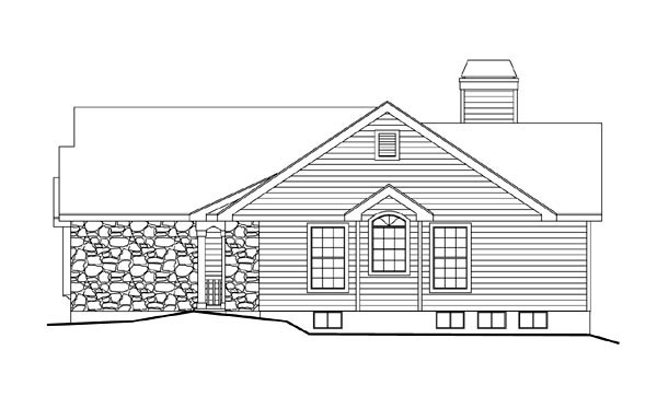 Country, Ranch, Traditional House Plan 86983 with 2 Beds, 2 Baths, 2 Car Garage Picture 2