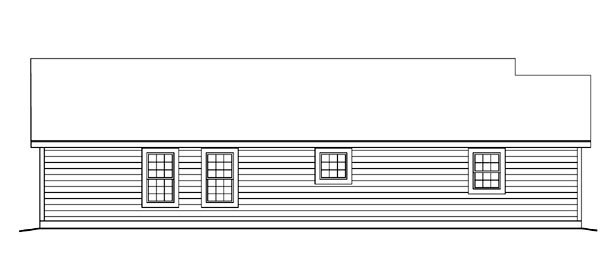 Cabin, Cottage, Ranch, Traditional House Plan 86988 with 3 Beds, 2 Baths, 2 Car Garage Picture 1