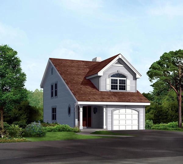 Cabin Cottage Traditional House Plan 86991 Elevation