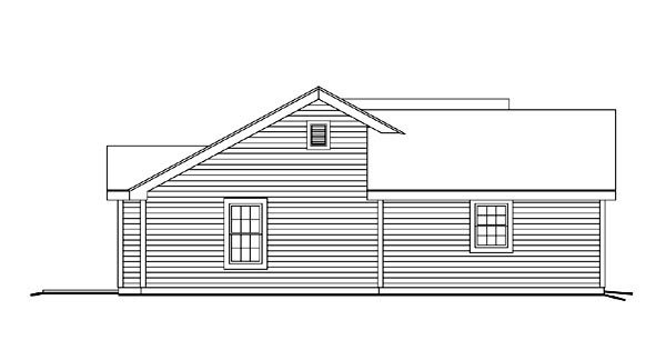 Cabin, Cottage, Ranch, Traditional House Plan 86992 with 3 Beds, 2 Baths, 2 Car Garage Picture 1