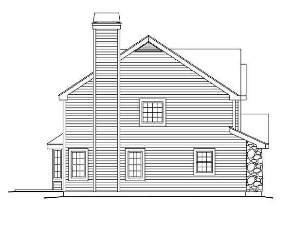 Traditional House Plan 86994 with 3 Beds, 3 Baths, 2 Car Garage Picture 1