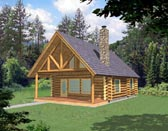 Plan Number 87028 - 1040 Square Feet