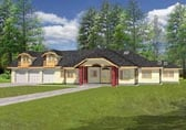 Plan Number 87081 - 3364 Square Feet