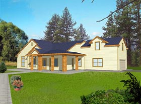 Traditional House Plan 87086 Elevation