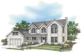 Country House Plan 87087 Elevation