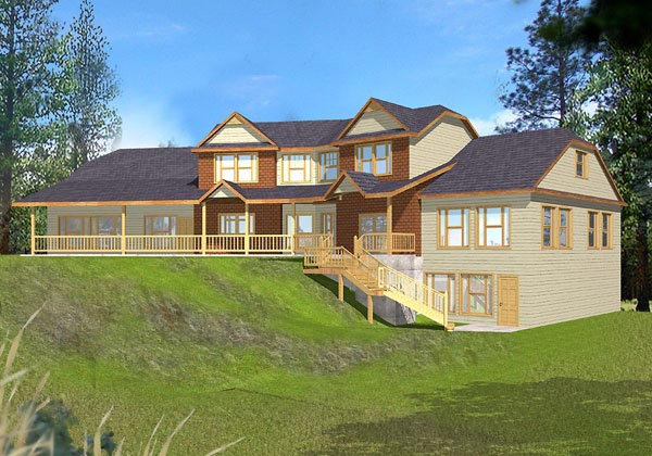 House Plan 87088 Elevation