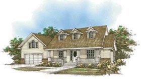 Country House Plan 87089 Elevation