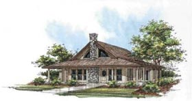 Bungalow Traditional House Plan 87092 Elevation