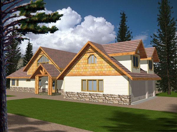 Craftsman House Plan 87096 Elevation